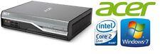 Mini PC Acer Veriton L480G Intel Core 2 Duo 2,7GHz 3GB 250GB Windows 7 COM-Port