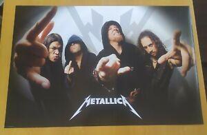 Licensed Poster Metallica Metal Rock Band Original #3