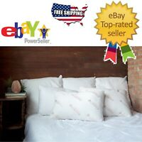 Essence of Copper Polyester Fiber Fill Bed Pillows 20 in x 28 in Free Shipping