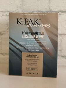 K-PAK WAVES Reconstructive Alkaline Wave Perm Kit Brand New In Box