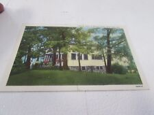 VINTAGE - VIEW OF MIRADOR HOTEL - CLEAR LAKE INDIANA -  POST CARD
