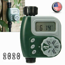 Automatic Water Outdoor Garden 1-Outlet Irrigation Controller Hose Faucet Timer
