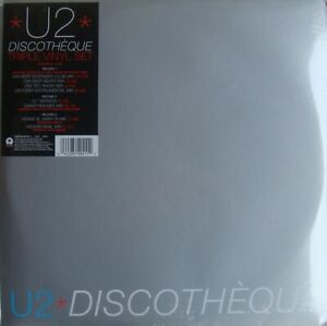 """U2 """" discothèque """" Triple vinyl set - NEUF sous blister"""