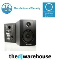 M-Audio BX5 D2 Active Monitor (Pair Price)FREE 3.5 to twin XLR cable 4 ipad etc