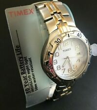 Timex Classic Stainless Steel Gold Silver Watch