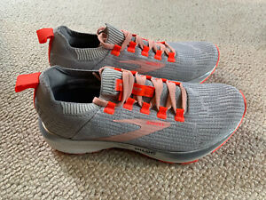 Brooks Ricochet 2 ladies running trainers | grey/orange | size 6. | New