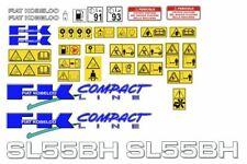 Fiat Kobelco SL55 BH decalcomanie adesive, kit Completo