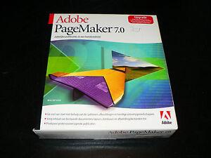 Adobe PageMaker 7.0 für Mac niederländische Vollversion Nederlandse dutch