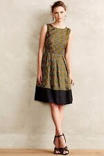 Anthropologie Kakum Flared Silk Dress by Girls From Savoy 2, 4, 6, 0P