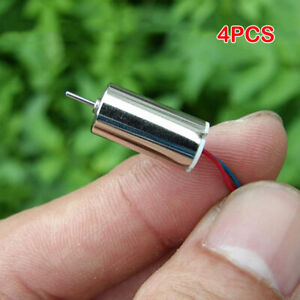 4PCS DC 3.7V 4.2V 55000RPM High Speed Mini 816 Coreless Motor NdFeB for RC Drone