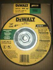 "Dewalt Grinding Wheel 7"" Concrete Masonry Dw4759 Box Of 10 7x1/4x5/8"" Type 27"