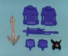 original G1 Transformers MENASOR PARTS LOT #5 head gun sword r+l fist foot