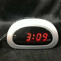 SHARP Digital Alarm Clock SPC089 Battery Backup Electric Powered Snooze