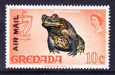 GRENADA 1972 SG503a 10c overprinted AIR MAIL double - unmounted mint Cat £45