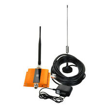 Gold GSM 900MHz Cell phone Handy Signal Booster Repeater VerstärkerLCD Mobile 2G