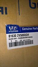 GENUINE NEW  HYUNDAI VELOSTER PANARAMA OPENING SUNROOF GLASS 81630 2V500