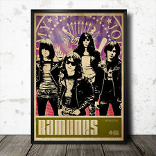 POSTER Artistico Ramones Musica Punk Sex Pistols Patti Smith New York Dolls MARMITTONI
