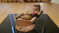 Vintage 1987 Signed By Tom Clark Mulligan Golf Gnome Figurine #59