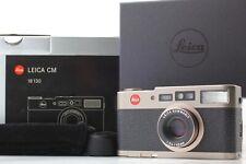 """ MINT in BOX "" Leica CM 35mm Summarit 40mm F/2.4 Point & Shoot Camera Japan"