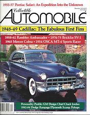 Collectible Automobile Magazine December 1992 Vol 9 - No 4