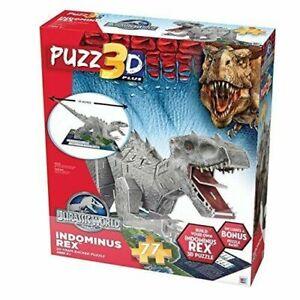 Jurassic World Indominus Rex 3D Puzzle Puzz3D * 77 pieces * NEW