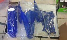 SET PLASTIQUE KTM EXC 125 250 300 2004 04 SET 3 PIÈCES COULEUR BLEU
