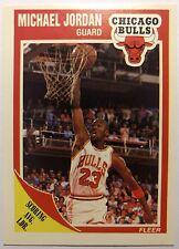MICHAEL JORDAN 1989-90 89-90 FLEER #21, Very Early MJ Card! Bulls, HOF!