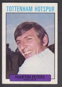 A&BC - Footballers (Purple 1-109) 1971 - # 109 Martin Peters - Tottenham