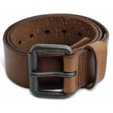 1075 - Men's Casual Caramel Genuine Cowhide Full Grain Leather Belt - 45mm Wide