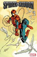 SPIDER-GEDDON #1 BAGLEY PETER PARKER VARIANT MARVEL COMICS SPIDER-MAN