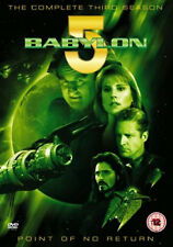 BABYLON 5 SEASON 3 DVD Third 3rd Series Mira Furlan UK Release New Sealed R2