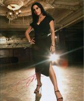 Cristina Scabbia  (Lacuna Coil)   **HAND SIGNED**  14x11 photo ~  AUTOGRAPHED