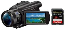 Sony FDR-AX700 SET inkl. SanDisk 128GB extreme Pro ! 4K Ultra HD Camcorder