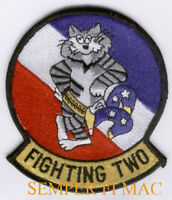 VF-2 BOUNTY HUNTERS PATCH FIGHTING USS BABY F14 US NAVY