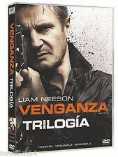 VENGANZA TRILOGIA DVD CONEXION ESTAMBUL + V3NGANZA 3 NUEVO ( SIN ABRIR ) 1+2+3