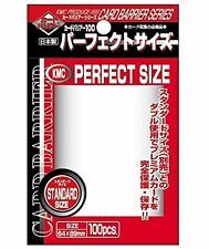 KMC Perfect Fit Full Size 3x Packs Card-Barrier Sleeves 100 ct Fits MTG ETC