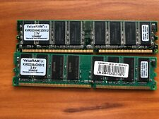 Kingston 1gb (2x512) DDR 333mhz PC2700 Desktop Memory