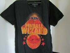 The Who T Shirt Pinball Wizard Flippers Band Logo Nouveau Officiel Homme