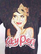 KATY PERRY THE HELLO KATY TOUR 2004 Concert T-Shirt Women's Large Leopard Print