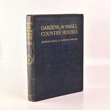 Gardens For Small Country Houses Gertrude JEKYLL 1st Edition