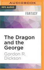 Dragon Knight: The Dragon and the George by Gordon R. Dickson (2016, MP3 CD,...
