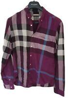 Mens chic BRIT by BURBERRY long sleeve shirt size large. Immaculate... RRP £250.