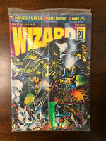 Wizard Magazine Price Guide #21 May 1993 New/sealed W/Stormwatch Card (maxx 1/2)