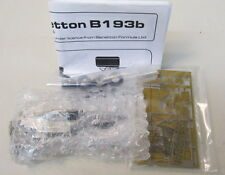 BBR BENETTON B193 FORD GP SAN MARINO 1993 1:43 white metal model kit MIB