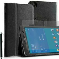 "Pieghevole Custodia Tablet Per Samsung Galaxy Nota Pro T320 Nero 7 "" + Penna +"