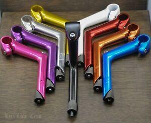 "Cruiser Bike Riser STEM 22.2mm Fork 1""Handlebars Vintage MTB Schwinn Bicycle NOS"