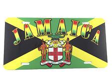 Jamaica License Plate Automobile Car Truck Reggae Yardie Kingston Bob Marley New