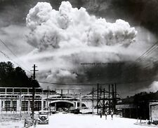 "Atomic cloud over Nagasaki from Koyagi-jima 8""x 10"" World War II WW2 Photo #137"