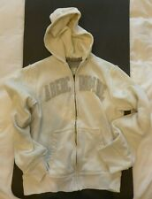 Men's A&F Abercrombie & Fitch Hoodie | White | M Medium | Thick | Heavy | Hoody