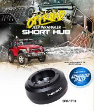 NRG Steering Wheel Short Hub Adapter 2007-2018 Jeep Wrangler JK SRK-171H